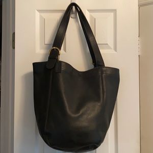 Vintage coach bag leather tote bag purse 4082 shop